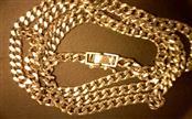 """24"""" Platinum Link Chain 850 Platinum 49.8g"""
